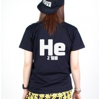 원소기호 티셔츠 (인쇄비 포함) /반티/단체티/행사티/유니폼/백넘버/한글티/영문티/과티